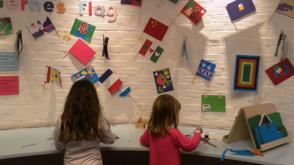 יצירה באגף הילדים במוזיאון לואיזיאנה, דנמרק