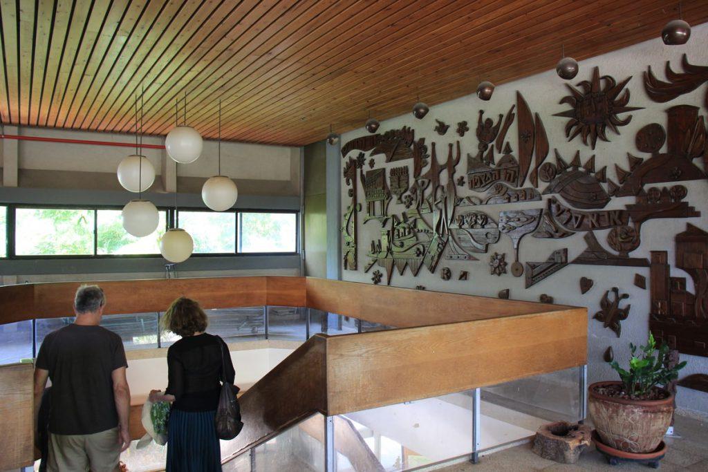 קיבוץ הזורע-אמנות קיר