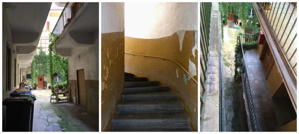 הכניסה המובילה לדירה The Apartment House Opatovicka