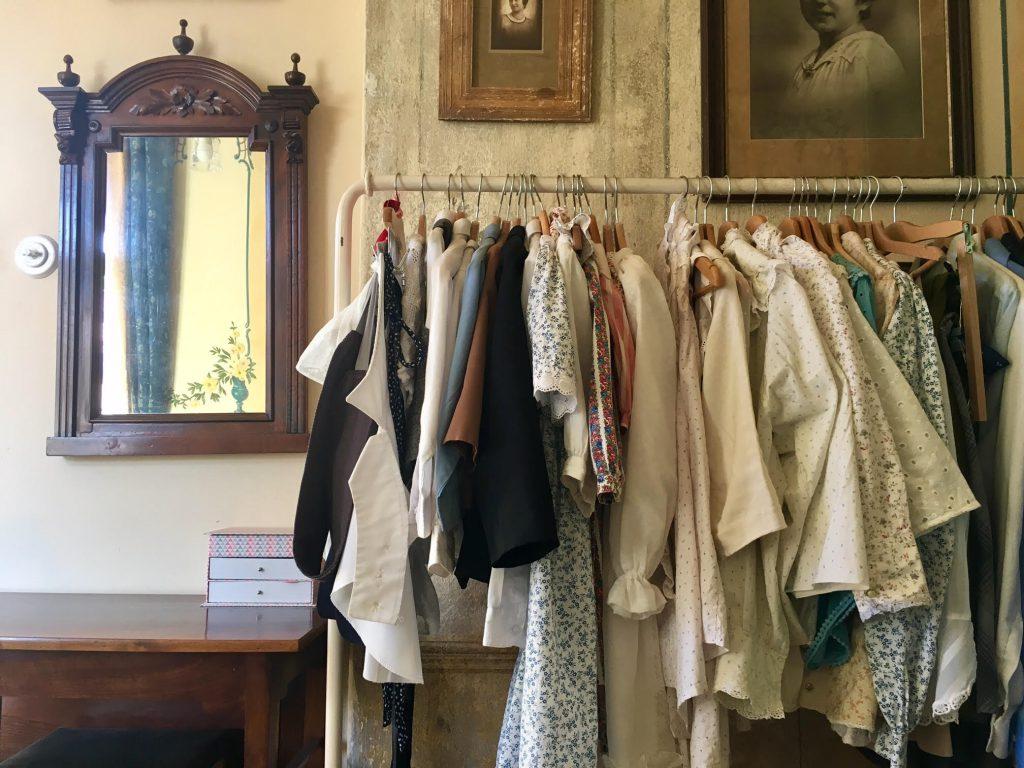 בגדים לצילומים בסטודיו של Josef Seidel