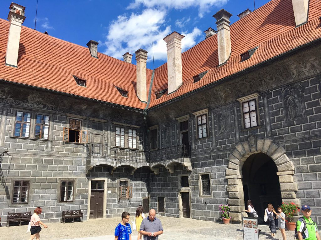 הטירה בצ'סקי קרומלוב