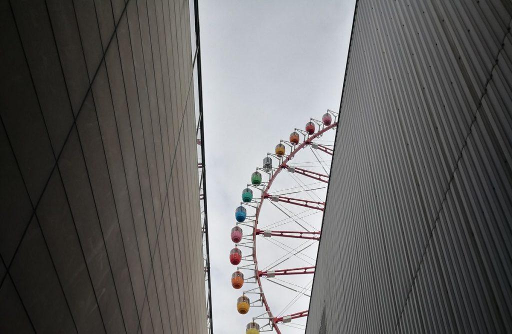 גלגל ענק באודייבה, טוקיו