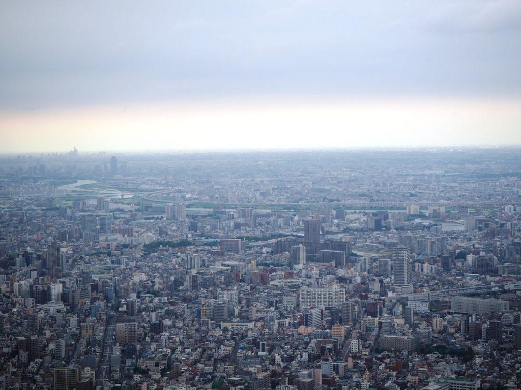 טוקיו. מבט מלמעלה