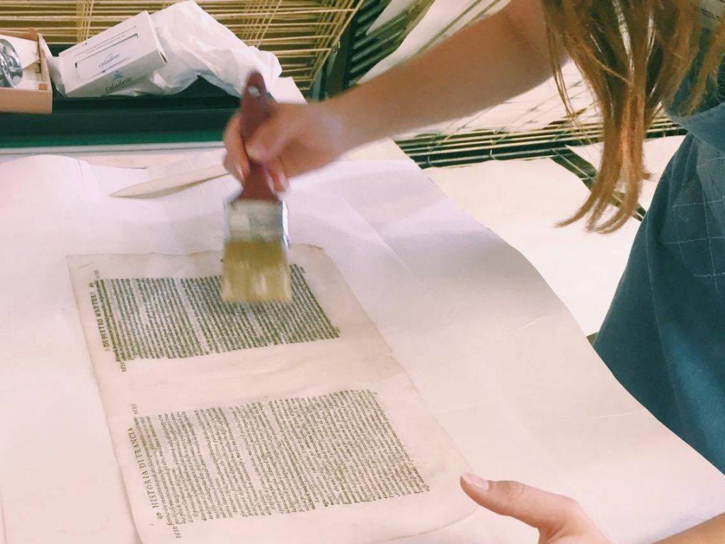 שימור ושחזור של ספרים בפירנצה