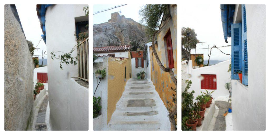 שכונת אנאפיוטיקה באתונה - השכונה הלבנה