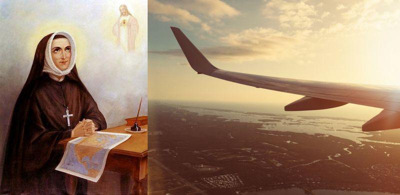 נזירה ומטוס