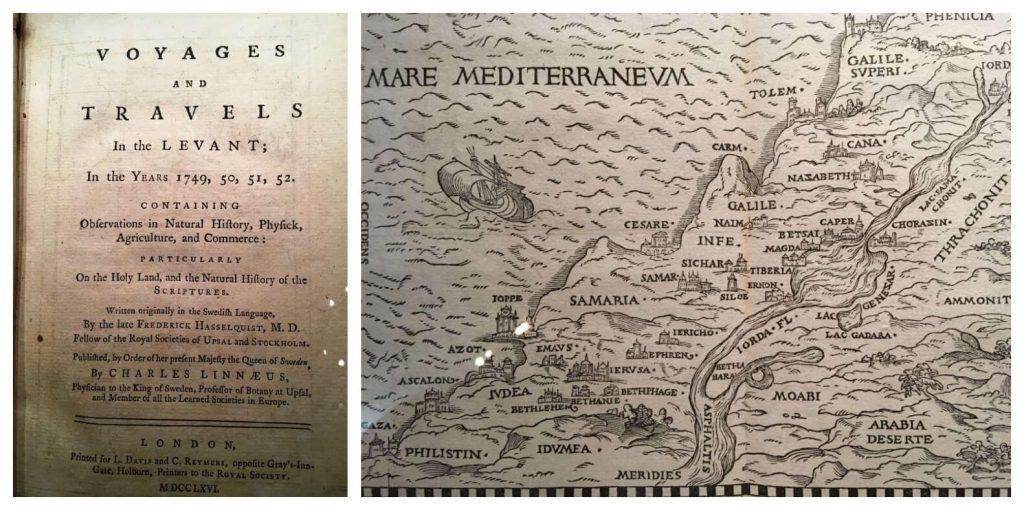 מפות עציקות בספריה בבררה