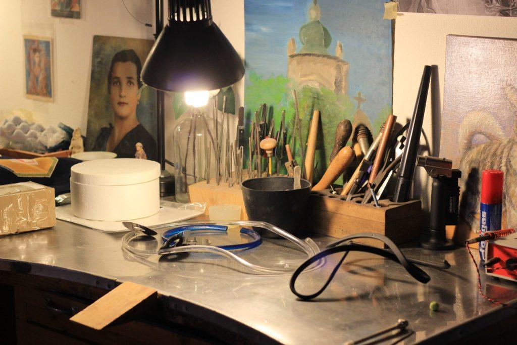 שולחן העבודה של פאולה