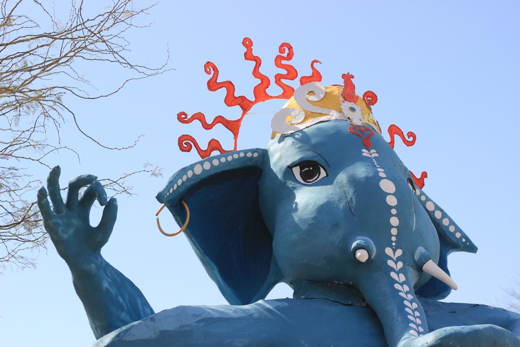 דמות פיל הודי