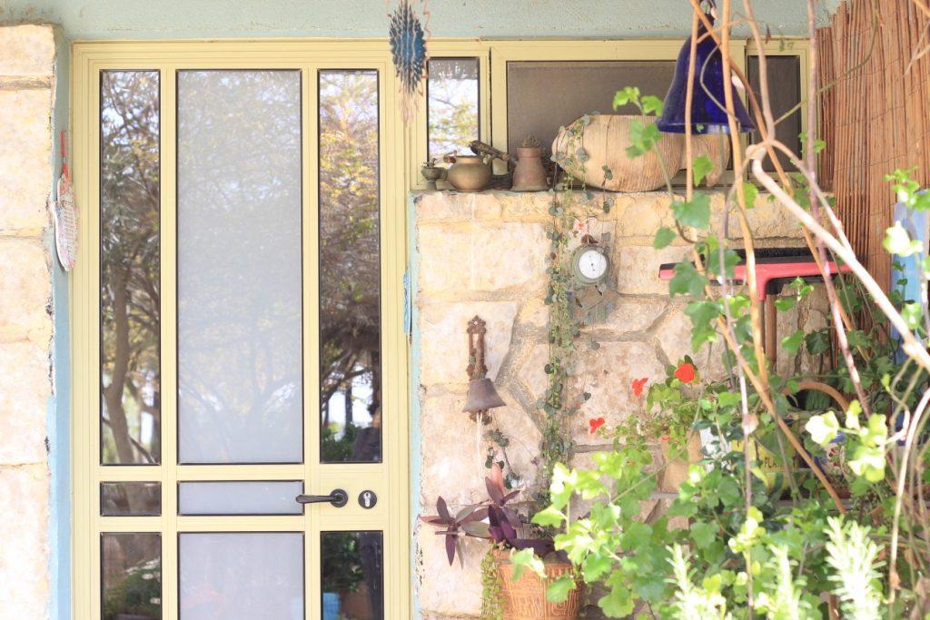 הצימר של רחל במצפה רמון- כניסה