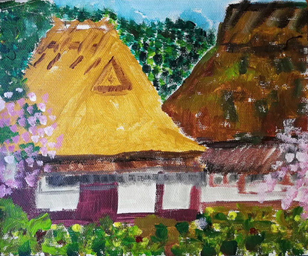 ציור של הכפר קיטה
