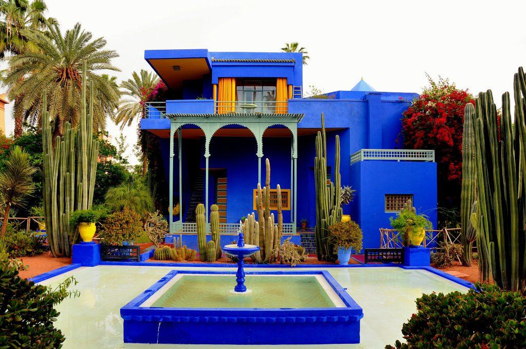 גני מיורל - הבית הכחול