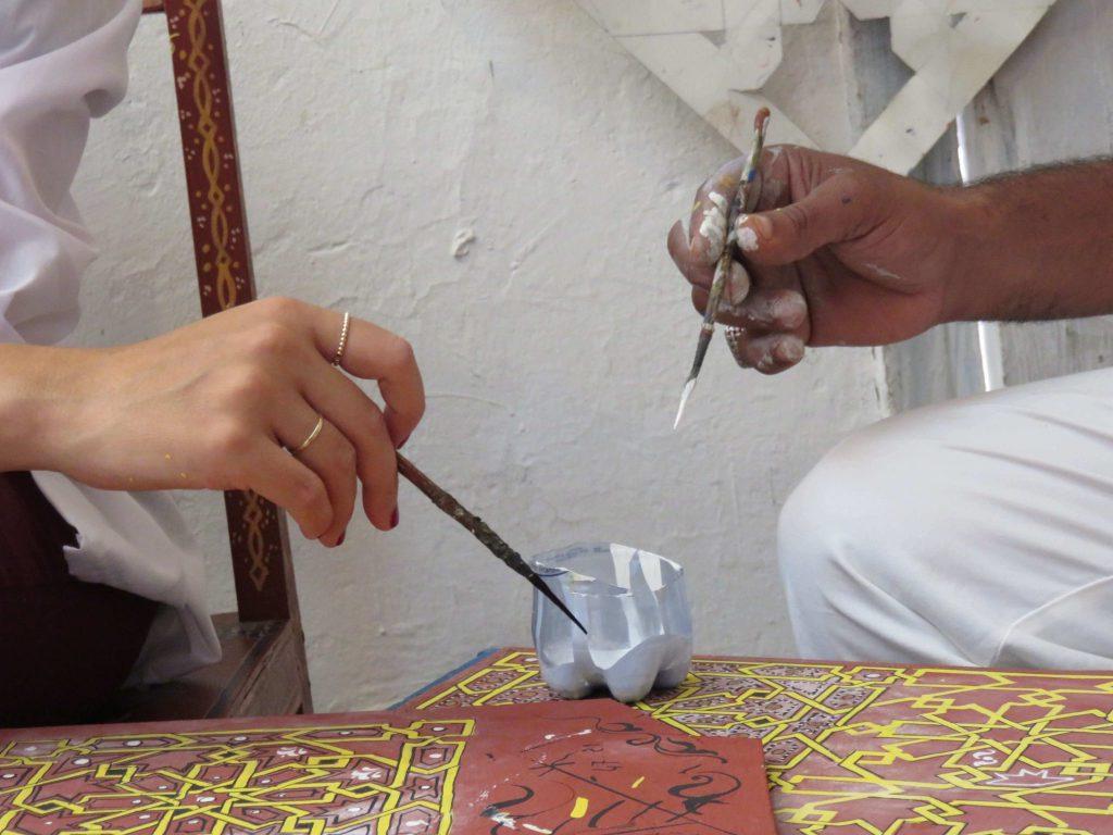 הדסה ואיברהים מציירים זואק