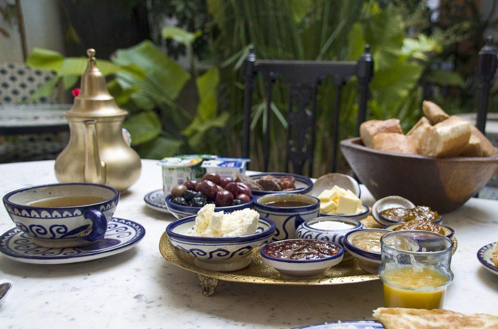 ארוחת בוקר מרוקאית