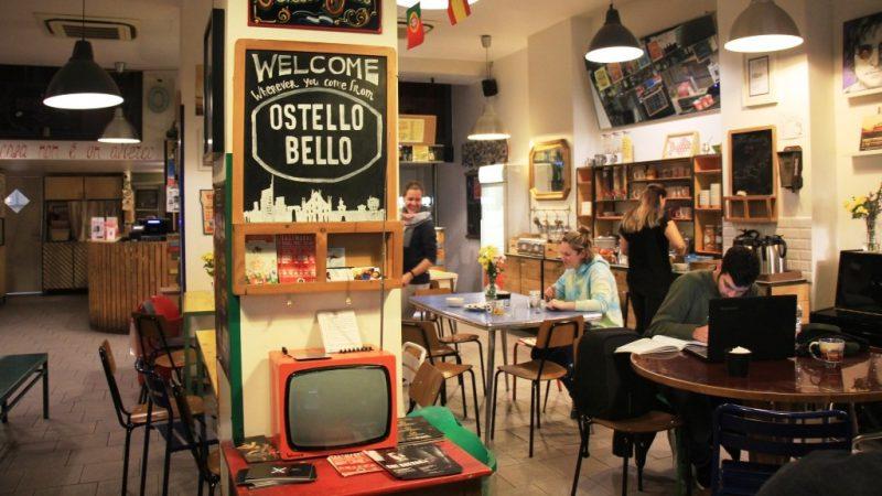 הכניסה ל ostellobello