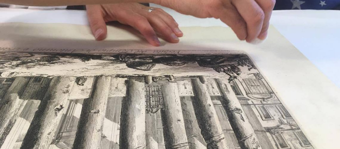 תהליך ניקוי תצריב מהמאה ה16